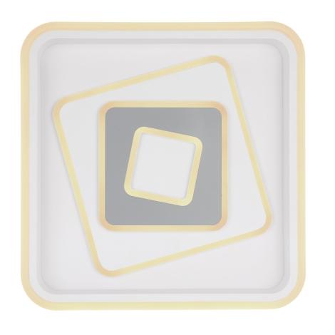 EGLO 30511 - Akcentinis šviestuvas PESARO 3xG9/9W juoda / balta