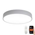 Immax NEO 07143-GR80 - LED Reguliuojamas lubinis šviestuvas RONDATE LED/65W/230V Tuya pilkas + valdymo pultas