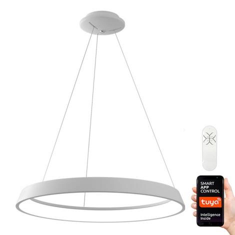 Immax NEO - LED Pritemdomas, ant virvės kabinamas, lubinis šviestuvas LIMITADO LED/39W/230V 60 cm baltas Tuya