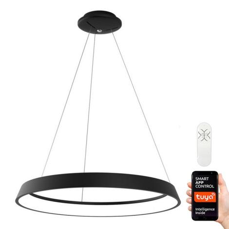 Immax NEO - LED Pritemdomas, ant virvės kabinamas, lubinis šviestuvas LIMITADO LED/39W/230V 60 cm juodas Tuya