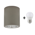 LED lubinis akcentinis šviestuvas JUPITER 1xE27/6W/230V 120x98 mm