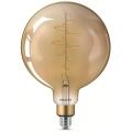 LED pritemdoma elektros lemputė VINTAGE Philips G200 E27/6,5W/230V 2000K