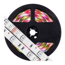 LED RGB pritemdoma juosta 5m LED / 7,2W / 12V IP65