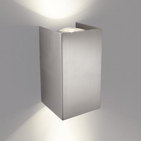 Philips 33012/17/PN - Sieninis šviestuvas GABARDINE 2xGU10/50W/230V