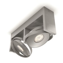 Philips 53152/48/P0 - LED Kryptinis šviestuvas PARTICON 2xLED/4,5W/230V