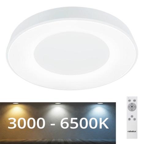 Rabalux - LED Lubinis reguliuojamas šviestuvas LED/38W/230V baltas + VP 3000-6500K