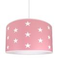 Vaikiškas šviestuvas STARS rožinis 1xE27/60W/230V